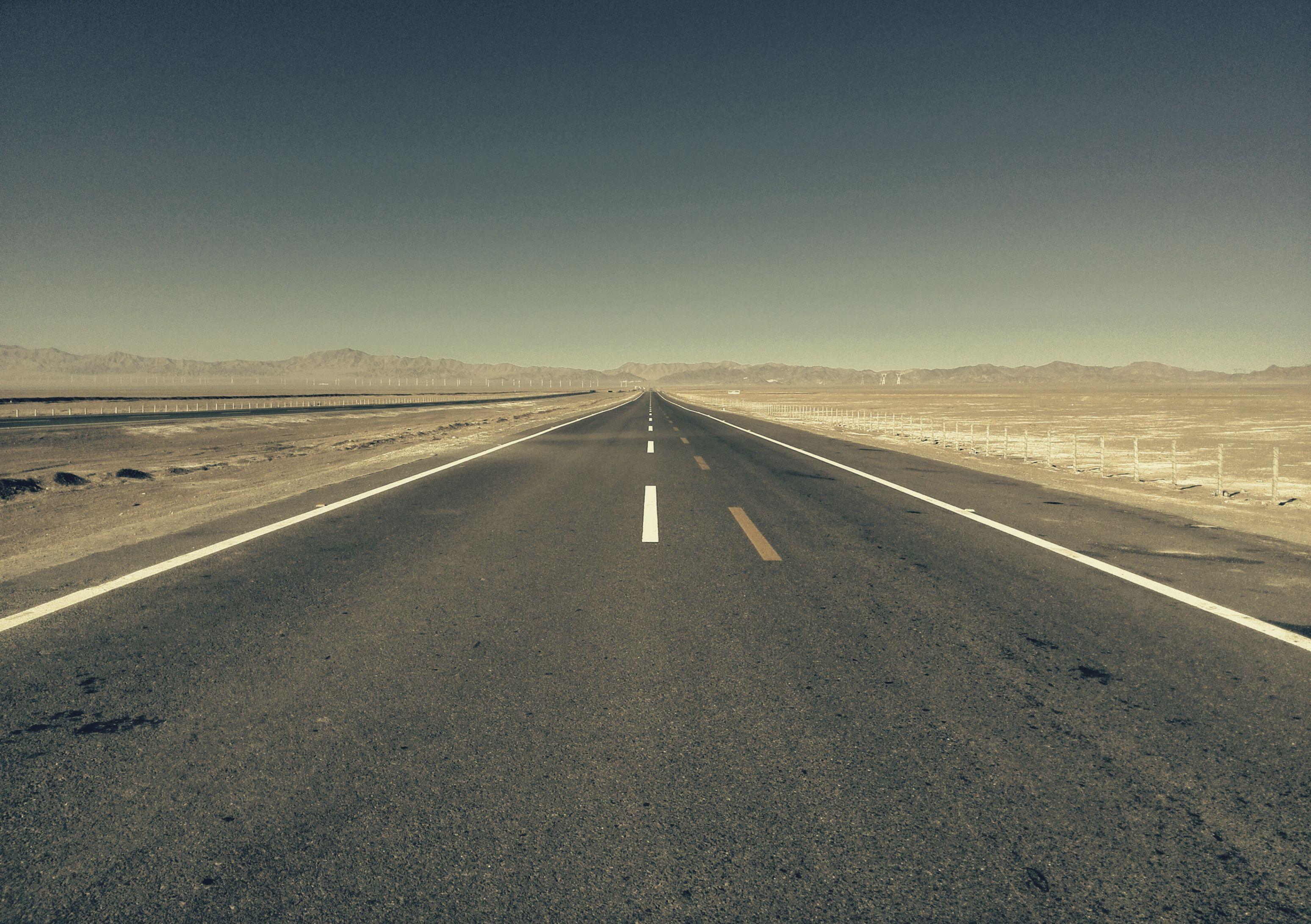 一点透视道路画法步骤